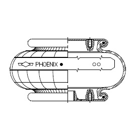 Phoenix single convolution with metal parts